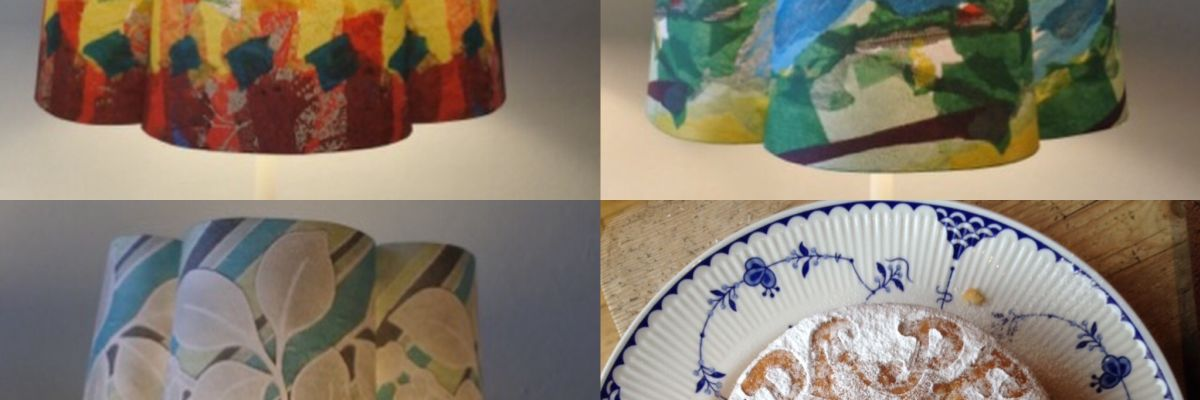 Papershades - lampshades don't have to be boring, they can be art!