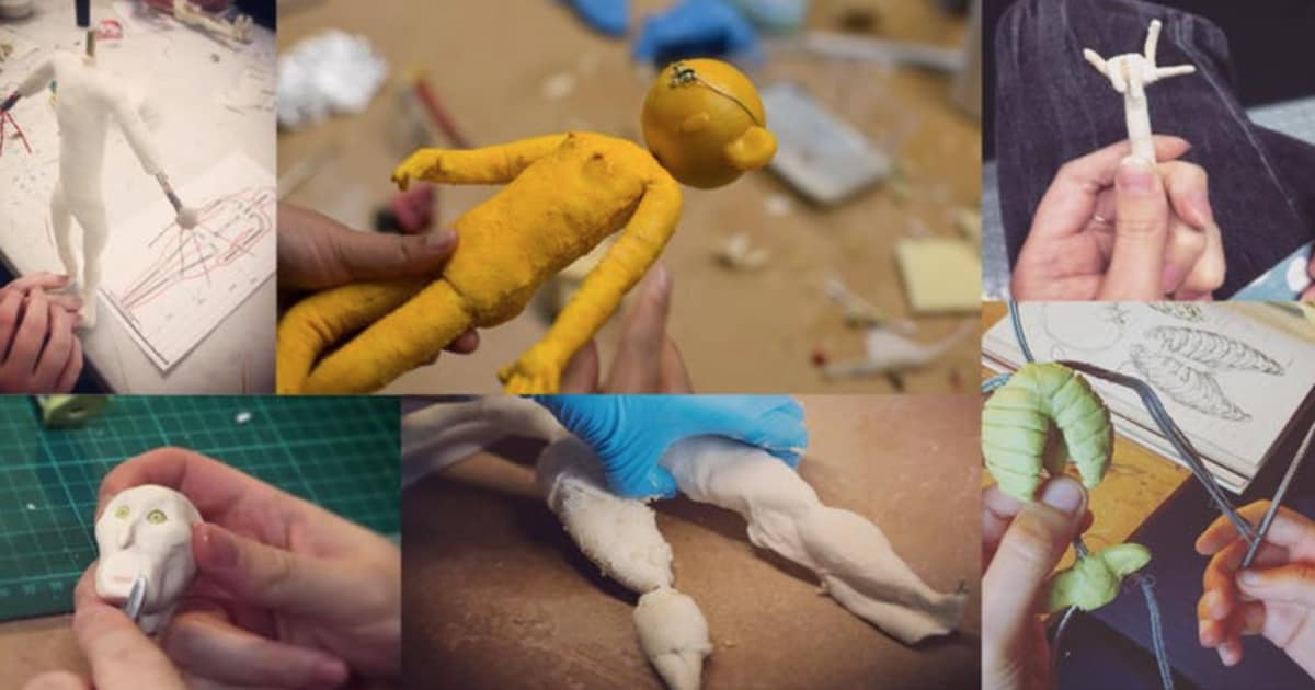 Stop Motion Animation, Foam & Latex Puppet Building Workshop | Obby