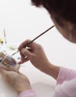 Fine Porcelain Painting Course by Erika Albrecht Ceramics - art in London