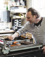 Letterpress Workshop by Pixel Press - art in London