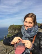 Learn To Knit Cables by Natalie Selles - crafts in London