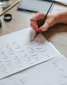 London Calligraphy art classes in London