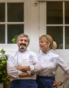 La Cucina Caldesi Cookery School food classes in London