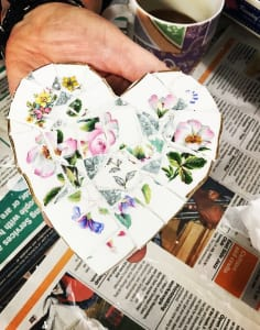 The Mosaic Tutor art classes in London