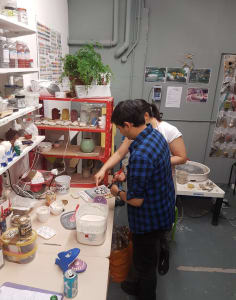 Clover & Emilia Pottery art classes in London