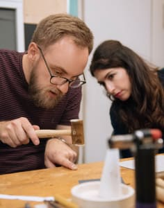Roderick Vere crafts classes in London