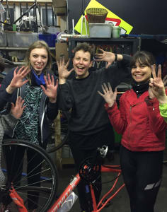 London Bike Kitchen  classes in London