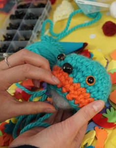 Hook A Monster crafts classes in London