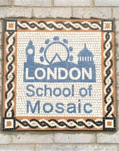 London School of Mosaic art classes in London