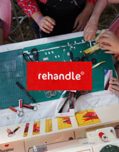 Rehandle crafts classes in London