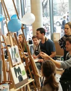 Liberté Concept art classes in London