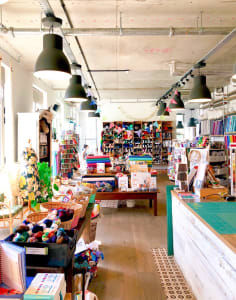 The Village Haberdashery crafts classes in London
