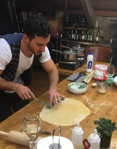 Throwback Pasta food classes in London