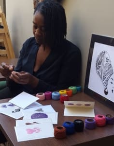 Funky String Art crafts classes in London