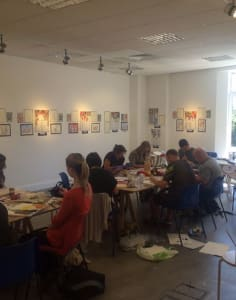 Allan Storer Art art classes in London