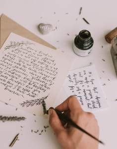 Amalia Calligraphy art classes in London