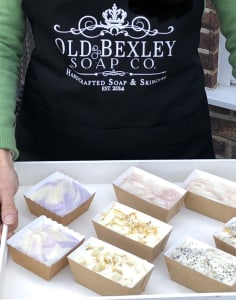 Old Bexley Soap Co. crafts classes in London