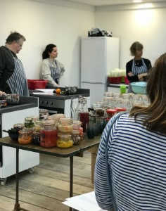 Nena Foster. Food food classes in London