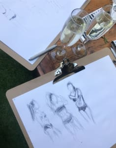 Bubbly and Art art classes in London