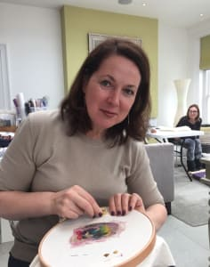 Inspirational Embroidery  classes in London