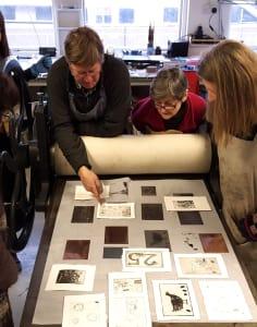 Thames-Side Print Studio art classes in London