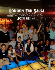 London Fun Salsa dance classes in London