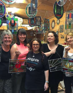 Cheryl Powling Stained Glass Studio art classes in London