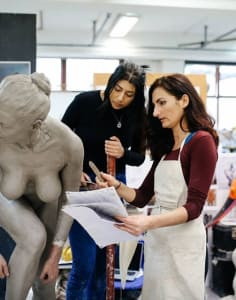 The Figurative Sculpture School art classes in London
