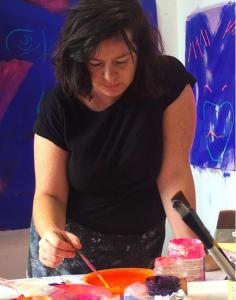 Nadine Mahoney art classes in London