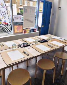 Art-K Carshalton art classes in London