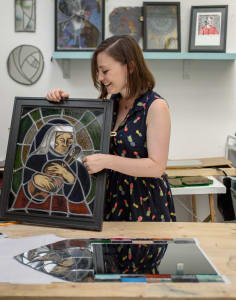 Aimee McCulloch Stained Glass art classes in London
