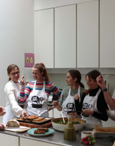 Cook and Speak languages classes in London