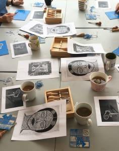 Debbie Chessell art classes in London