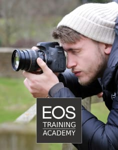 EOS Training Academy photography classes in London