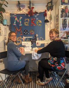Make Mee Studio crafts classes in London