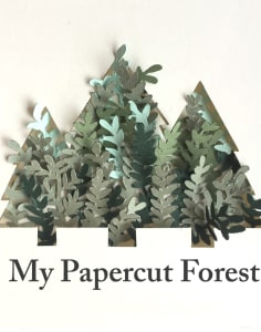 Silvina De Vita - My Papercut Forest crafts classes in London