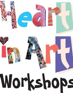 Heart in Art workshops crafts classes in London