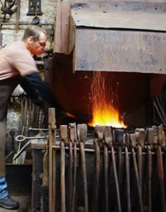 Hot Metal Works crafts classes in London