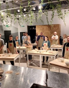 Bellavita Academy food classes in London