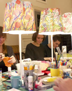 Papershades crafts classes in London