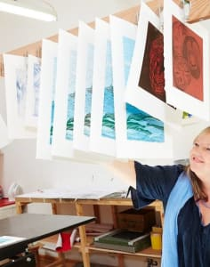 Lavender Print School art classes in London