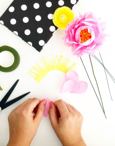 The Paper Flower Garden crafts classes in London