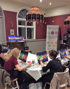 Paint Arty art classes in London