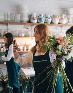 The Flower Appreciation Society crafts classes in London