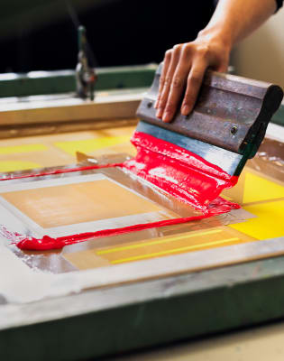 Screenprinting with Underway Studio: Brixton Edition  by Underway Studio - art in London