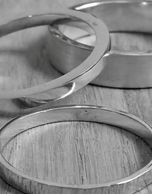 Beginners Silver Ring Class by Collette Dawn Jewellery - crafts in London