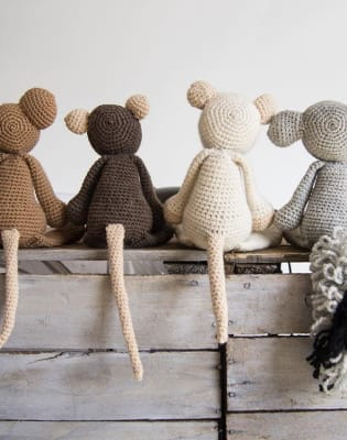 Learn to Crochet Amigurumi - make 'Bridget the Elephant' by Stag and Bow - crafts in London