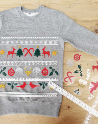 Make Your Own Christmas Jumper by 3rd Rail Print Space - crafts in London