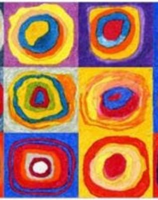 Paint Kandinsky! by PopUp Painting - art in London