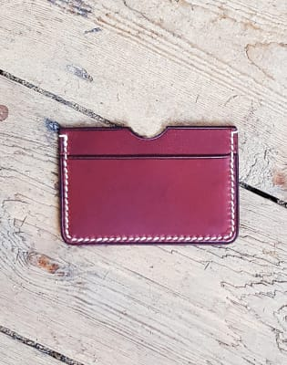 Leather Workshop - Make a Card Case by Carréducker Shoe & Leather School - crafts in London